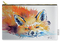 Red Fox Sleeping Carry-all Pouch