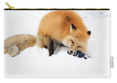 Red Fox To Base Carry-all Pouch