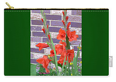 Red Gladiolas Carry-all Pouch