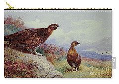 Red Grouse On The Moor, 1917 Carry-all Pouch