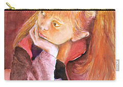 Red Head Beauty Carry-all Pouch