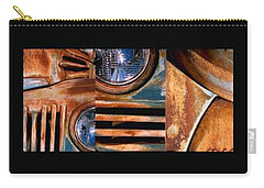 Carry-all Pouch featuring the photograph Red Head On by Steve Karol