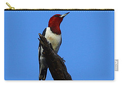 Red Headed Woodpecker On A Snag Carry-all Pouch