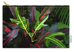 Red Hot And Green Carry-all Pouch