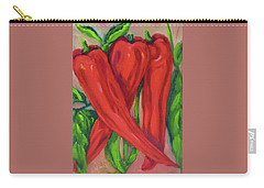 Red Hot Peppers Carry-all Pouch