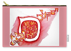 Red Hot Samech Carry-all Pouch