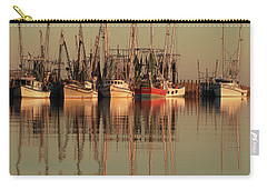 Red Is An Interesting Color Carry-all Pouch by Laura Ragland