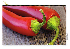 Red Jalapeno Peppers Carry-all Pouch