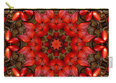 Red Kaleidoscope No. 1 Carry-all Pouch