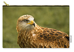 Carry-all Pouch featuring the photograph Red Kite by Scott Carruthers