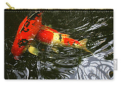 Red Koi Fish Carry-all Pouch