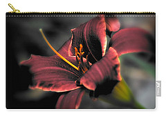 Red Lilly2 Carry-all Pouch