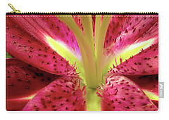 Red Lily Closeup Carry-all Pouch
