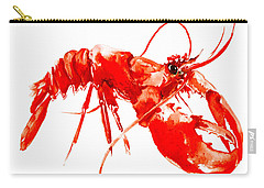 Red Lobster Carry-all Pouch by Suren Nersisyan