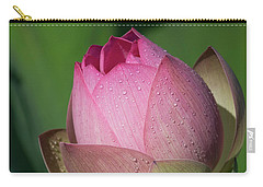 Red Lotus Blossom Carry-all Pouch