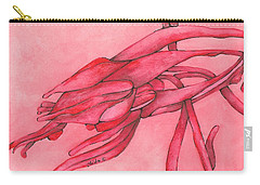 Red Lust Carry-all Pouch by Versel Reid