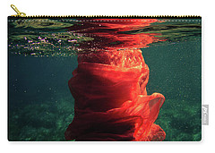 Red Mermaid Carry-all Pouch