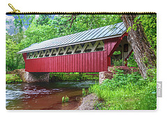 Red Mill Covered Bridge Carry-all Pouch by Trey Foerster