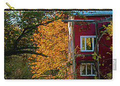 Red Mill In Autumn Carry-all Pouch by Trey Foerster