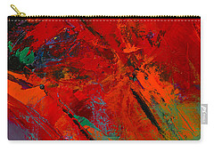 Red Mood Carry-all Pouch by Elise Palmigiani