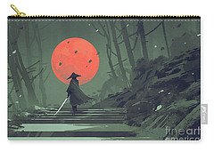 Red Moon Night Carry-all Pouch