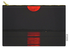 Red Moon Rising  Carry-all Pouch
