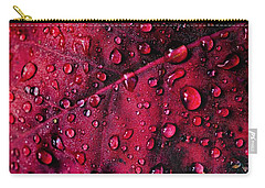 Carry-all Pouch featuring the photograph Red Morning by Gene Garnace
