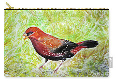 Red Munia Carry-all Pouch