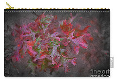 Red Oak Leaves, Grapevine Texas Carry-all Pouch