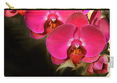Red Orchid11 Carry-all Pouch by Susan Crossman Buscho