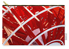 Red Paddle Wheel Carry-all Pouch