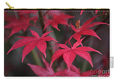 Red Palms  Carry-all Pouch by Yumi Johnson