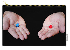 Red Pill Blue Pill Carry-all Pouch
