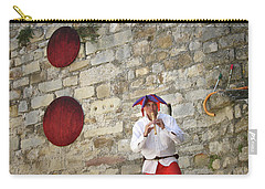 Carry-all Pouch featuring the photograph Red Piper by Rasma Bertz