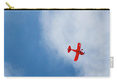 Red Plane Carry-all Pouch