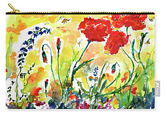 Red Poppies Provence 2017 Carry-all Pouch