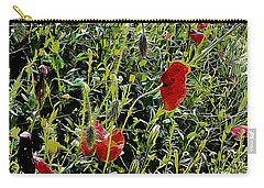 Red Poppy Viewpoint Carry-all Pouch