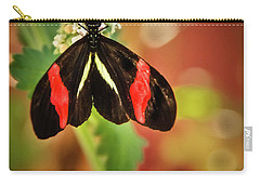 Carry-all Pouch featuring the photograph Red Postman by Robert Bales