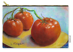 Red Ripe And Ready Carry-all Pouch