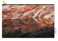 Red River Carry-all Pouch by Donna Blackhall