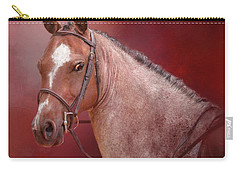 Red Roan Carry-all Pouch