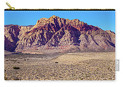 Red Rock Canyon Nca Pano Carry-all Pouch by Janis Knight
