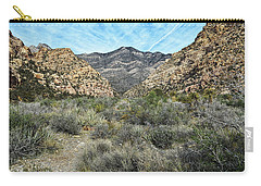 Carry-all Pouch featuring the photograph Red Rock Canyon - Nevada by Glenn McCarthy Art and Photography