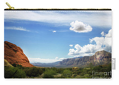Red Rock Canyon Vintage Style Sweeping Vista Carry-all Pouch