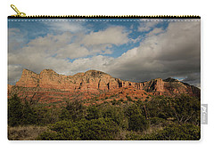 Red Rock Country Sedona Arizona 3 Carry-all Pouch by David Haskett