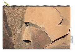 Red Rock Indian And Deer Carry-all Pouch