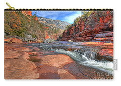 Carry-all Pouch featuring the photograph Red Rock Sedona by Kelly Wade