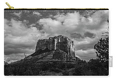 Red Rocks Sedona Bnw 1 Carry-all Pouch by David Haskett