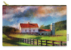 Red Roof Barn Carry-all Pouch