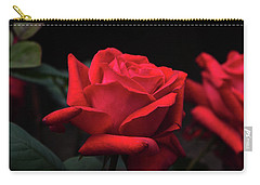 Carry-all Pouch featuring the photograph Red Rose 014 by George Bostian